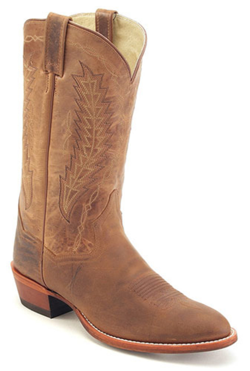 Men's Dan Post JOSH Pull On Cowboy Boots TAN 11.5 D