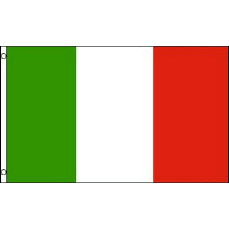 Outdoor Italian - 2x3 Italy Flag Italian Banner Country Pennant Indoor Outdoor 24x36 inch New