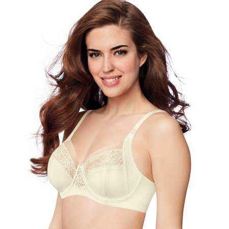 Bali Womens Beauty Lift Shaping and Lift Underwire Bra, 34D, Pearl (Shaping Underwire)