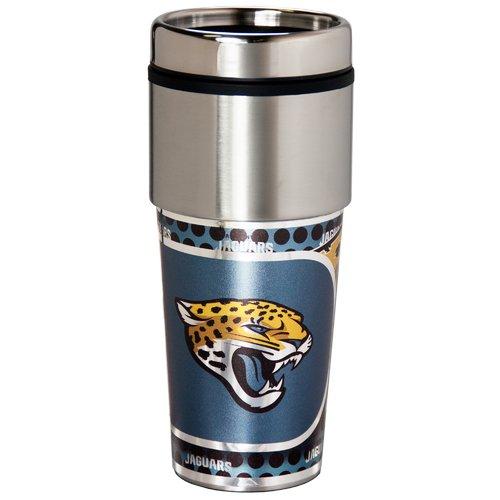 NFL Jacksonville Jaguars Stainless Steel Tumbler