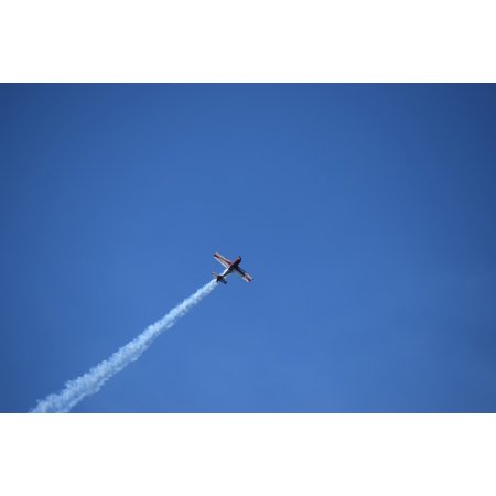 LAMINATED POSTER Acrobatic Airplane Stunt Plane Plane Sky Evolution Poster Print 24 x 36