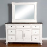 Sunny Designs Carriage House 7 Drawer Dresser