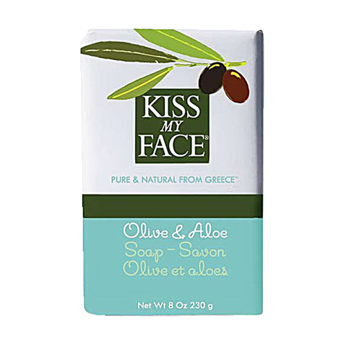 Kiss My Face Olive Oil And Aloe Bar Soap - 8 Oz