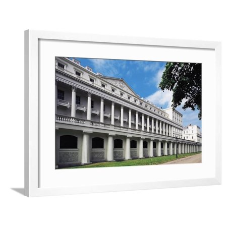 London Terrace (Carlton House Terraces, 1827-1832, Architect John Nash, London, England, United Kingdom Framed Print Wall)
