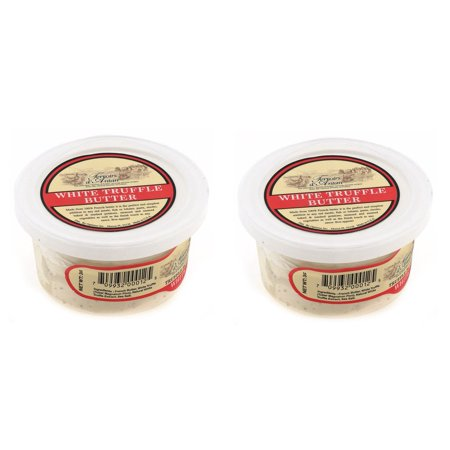 Boxed Truffle - White Winter Truffle Butter from France in Plastic Container - 2 packs x 3 oz