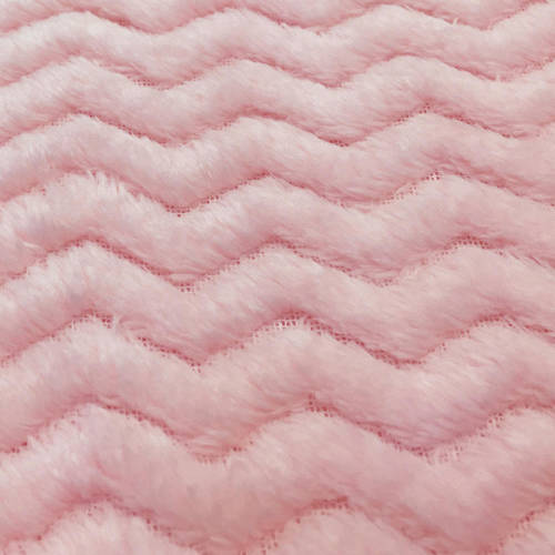 "RTC Fabric Black 100 Percent Polyester Fleece for Blankets, Apparel and Nursery, Zigzag Pattern, 60"", 255GSM"