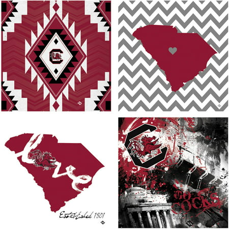 Stoneware Drink Coasters  University Of South Carolina Spirit