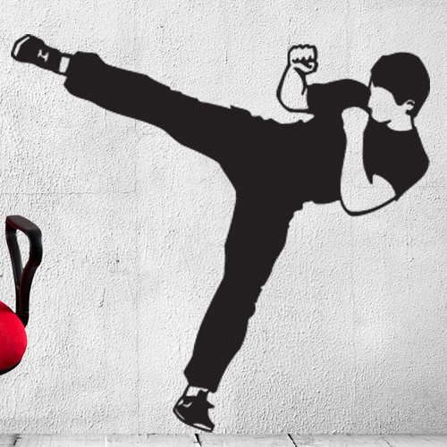 Style and Apply Karate Wall Decal