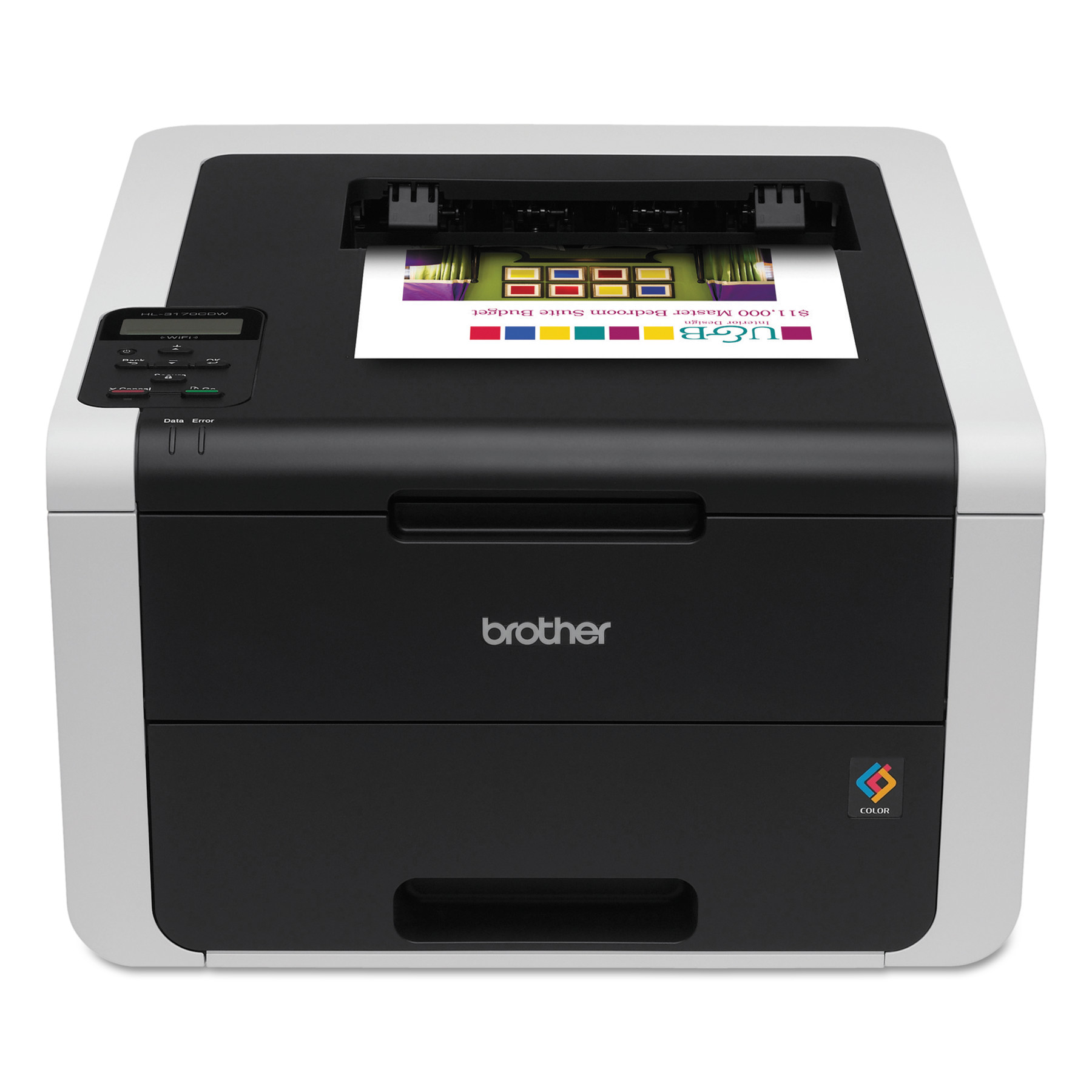 Brother HL-3170CDW Digital Color Printer with Duplex Printing and Wireless Networking by Brother