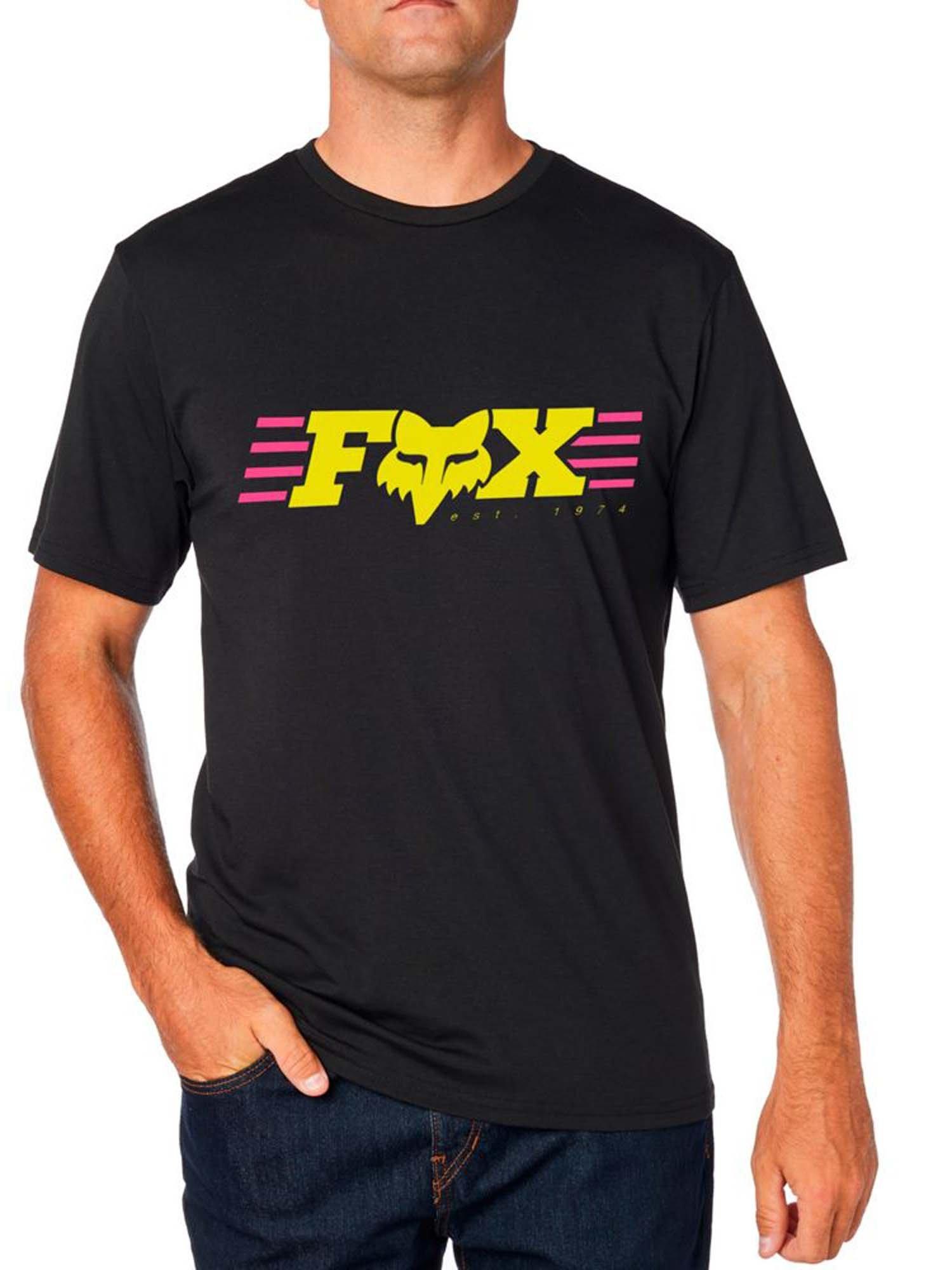 Fox Mens Muffler Short Sleeve Basic T-Shirt