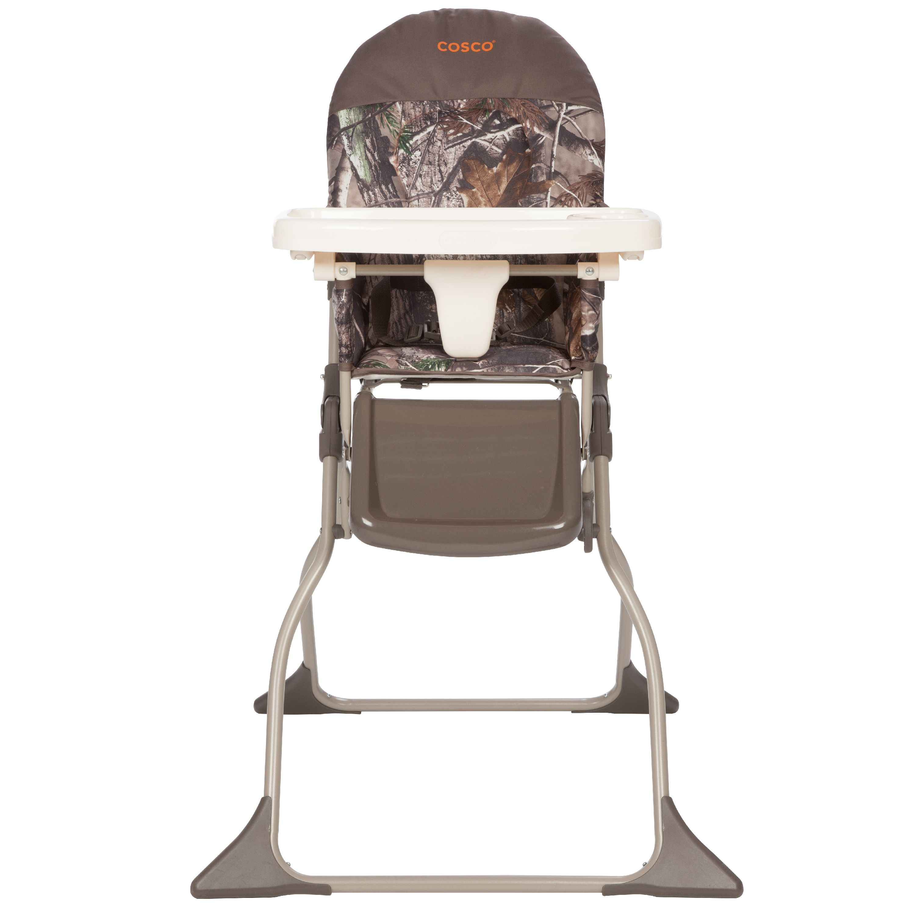 Cosco Simple Fold Full Size High Chair with Adjustable Tray, Realtree
