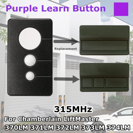 Garage Door Remote Opener 315MHz For LiftMaster 370LM 371LM 372LM 373LM 374LM