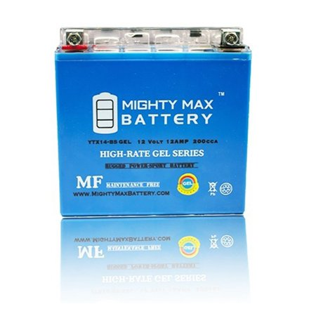 - YTX14-BS GEL Battery for Honda VT1100, GL1500 VTX