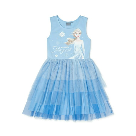 Frozen Girls Exclusive Ombre Tulle Princess Tutu Dress, Sizes 4-16