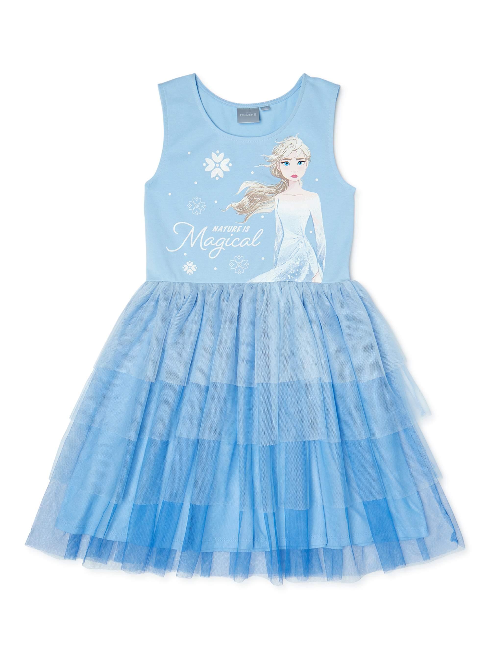 Frozen 2  Disney Frozen 2 Girls Exclusive Princess Tutu Dress, Sizes 4-16