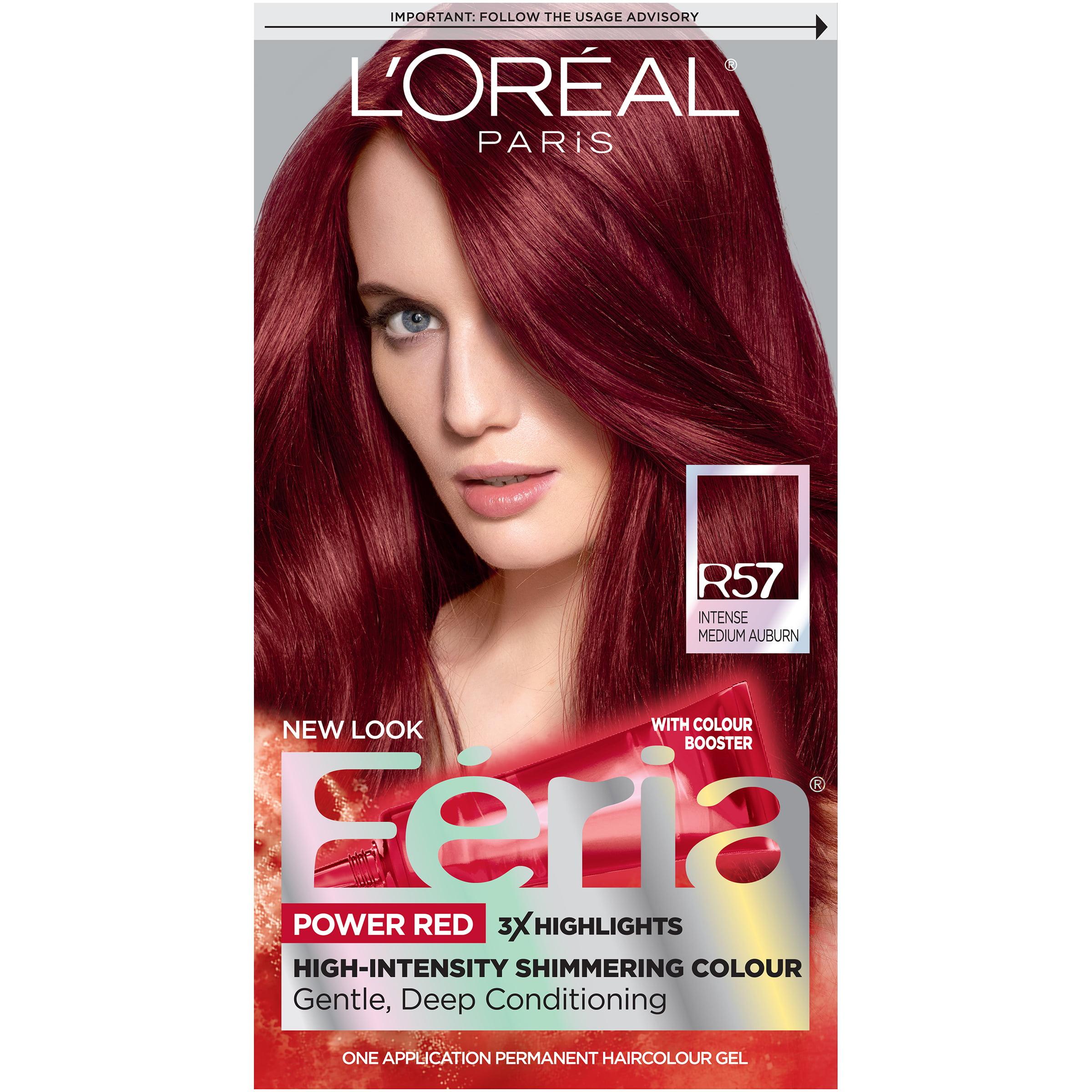 L Oreal Paris Feria Multi Faceted Shimmering Permanent Hair Color R57 Cherry Crush Intense Medium Auburn 1 Kit Walmart Com Walmart Com,Modern White Kitchen Kitchen Floor Tiles Ideas