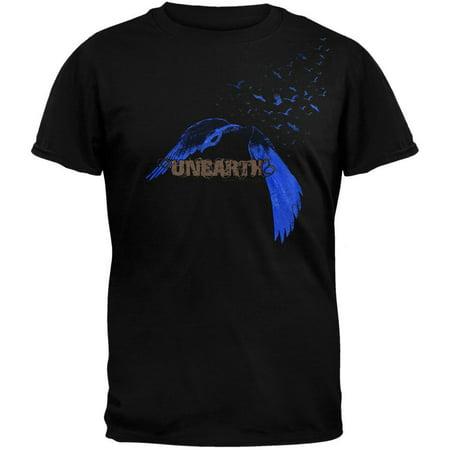 Unearth - Bird Logo Adult T-Shirt](T Bird Logo)