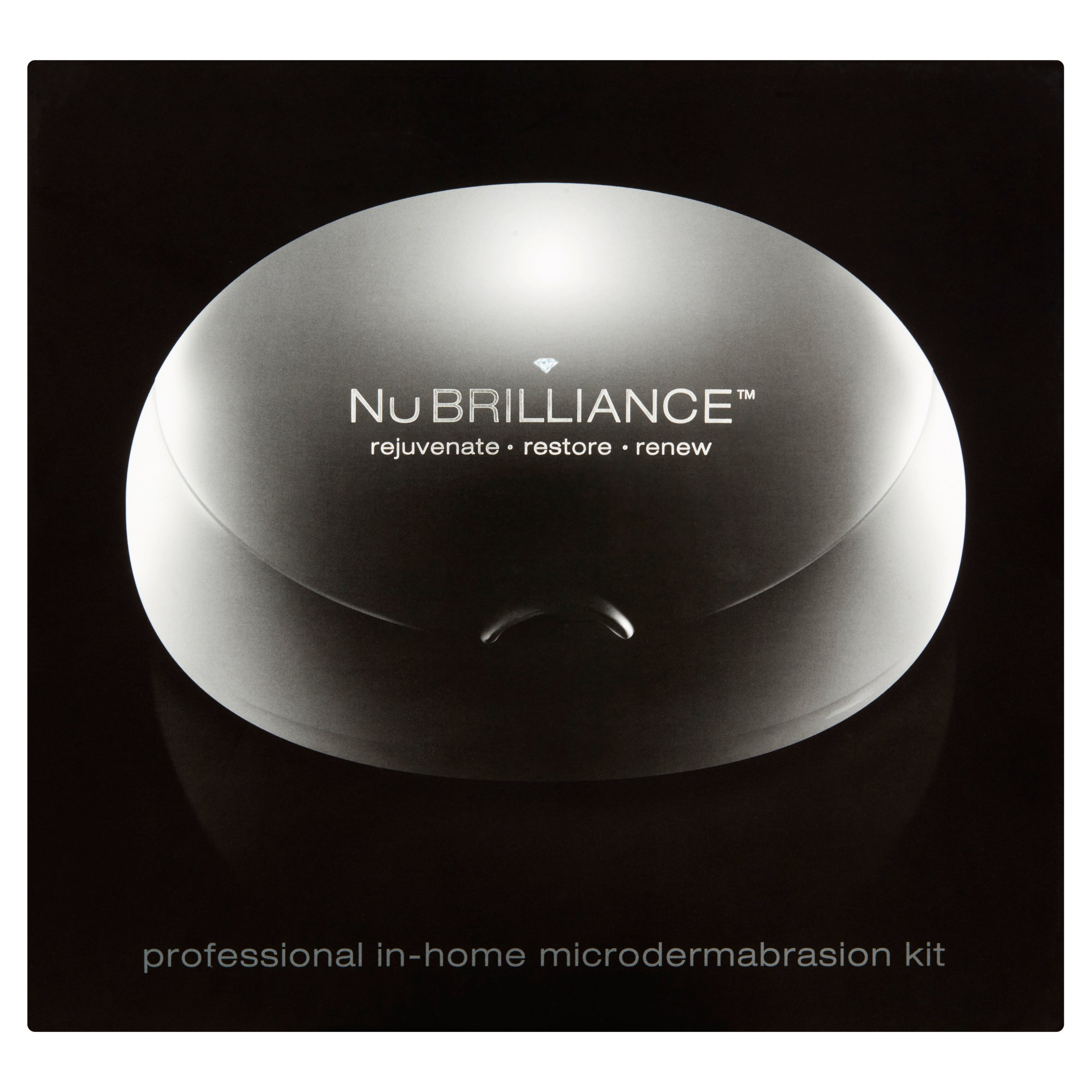 NuBrilliance Professional In-Home Microdermabrasion Kit, 34 Ct