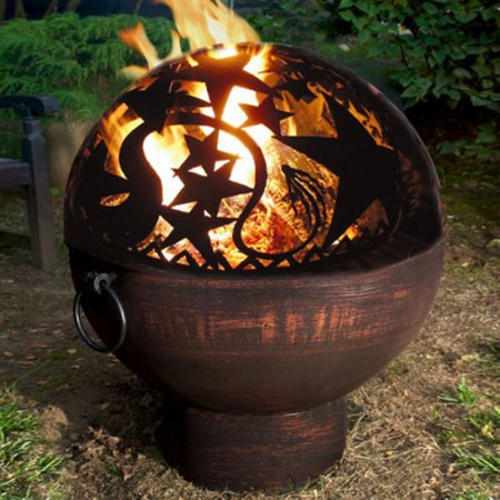 Good Directions Oversized Fire Bowl with Orion FireDome - 26