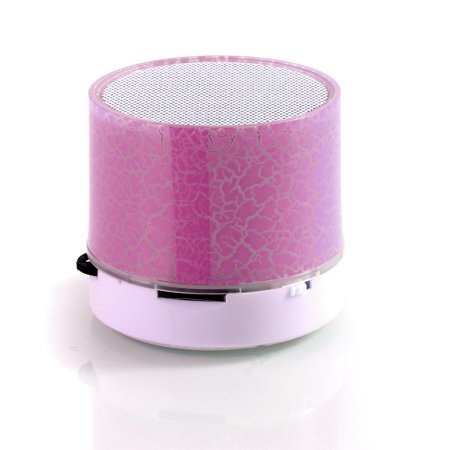 Mini Wireless Portable Bluetooth Speakers Hands Free LED Speaker With TF USB Sound Music For Mobile