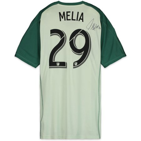 the latest b34b3 a1ce0 Tim Melia Sporting Kansas City Autographed Match-Used Green #29 Jersey from  the 2018 MLS Season - Fanatics Authentic Certified - Walmart.com