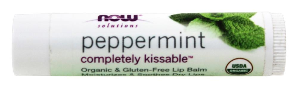 NOW Foods - Solutions Completely Kissable All Natural Lip Balm Peppermint - 0.15 oz. (pack of 2) Shiseido Benefique Cleansing Foam 4.4oz/125g