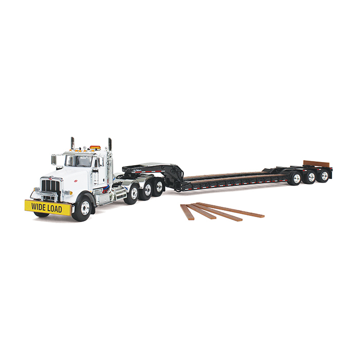 Firstgear Peterbilt 367 with Tri Axle Lowboy Trailer 1/50...