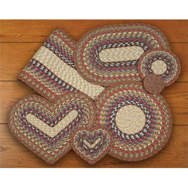 Earth Rugs 60-300 Honey-Vanilla-Ginger Heart Placemat