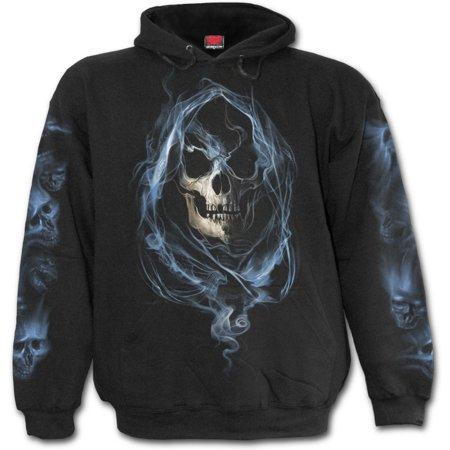 Spiral Direct GHOST REAPER Fleece Hoody BlackReaper |Souls |Skulls |Death