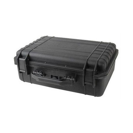"Brand New 18"" Black Tactical Weatherproof Equipment Case"
