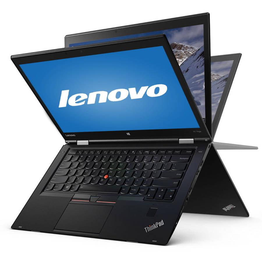 "Lenovo ThinkPad X1 Yoga 14"" Laptop, Touchscreen, 2-in-1, Windows 10 Pro, Intel Core i7-6500U Processor, 8GB RAM, 512GB Solid State Drive"