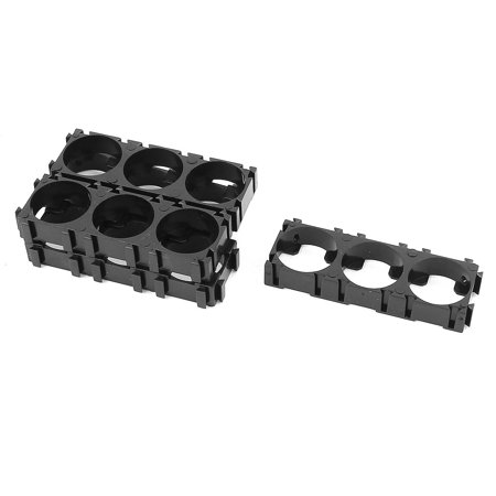 5 Pcs 18650 Lithium Battery Triple Holder Bracket for DIY Battery Pack - image 1 of 1