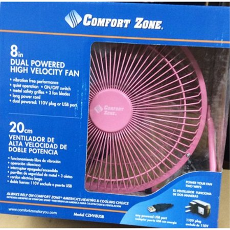 czhv8usb pink comfort zone 8
