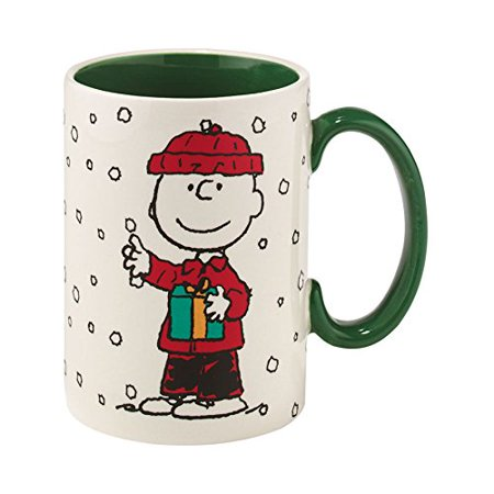 Department 56 Peanuts Charlie Brown with Gift Mug