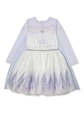 Disney Frozen 2 Exclusive Elsa Epilogue Cosplay Tutu Dress, Girls Sizes 4-16