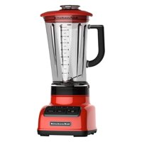 KitchenAid RKSB1570HT 5-Speed Diamond Blender with BPA-Free Pitcher, 60 oz, Hot Sauce (CERTIFIED REFURBISHED)