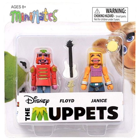 Muppets Mini - The Muppets Minimates Series 1 Floyd & Janice Minifigure 2-Pack