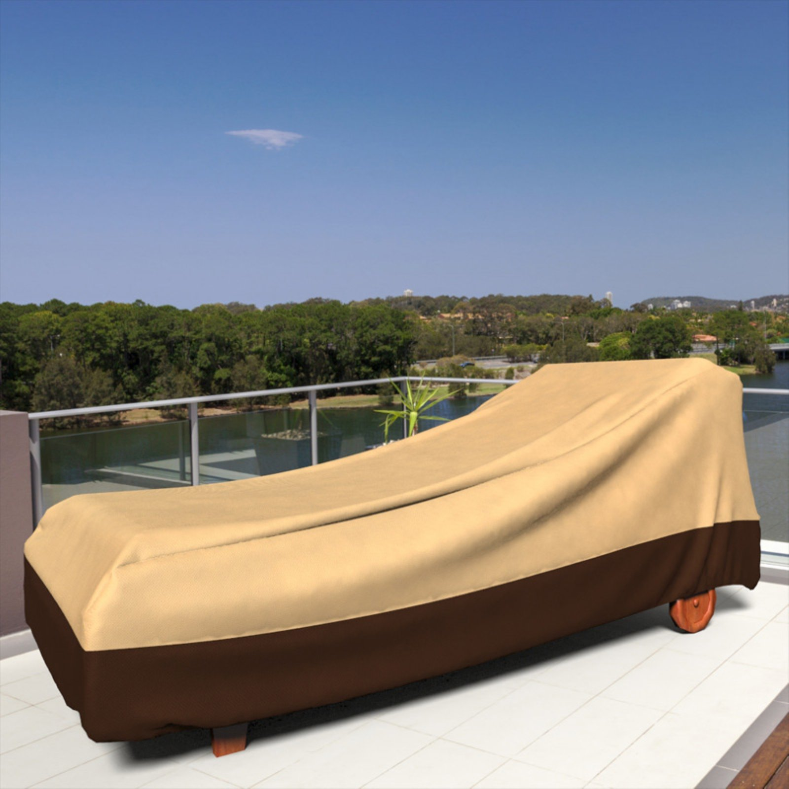 Budge Industries All Seasons Polypropylene Outdoor Patio Chaise Lounge Cover    Walmart.com