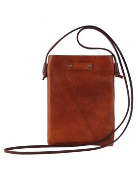 MW Ready to Go 100% Leather Crossbody Bag Purse