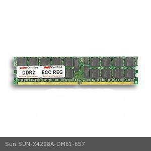 DMS Compatible/Replacement for Sun X4298A Blade X6220 Server Module 1GB DMS Certified Memory DDR2-667 (PC2-5300) 128x72 CL5 1.8v 240 Pin ECC/Reg. DIMM Dual Rank - DMS