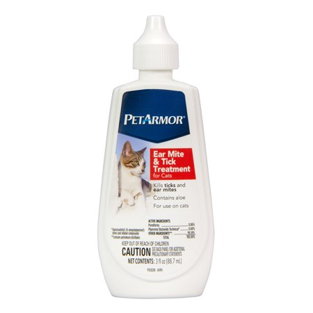 PetArmor Ear Mite & Tick Treatment for Cats, 3
