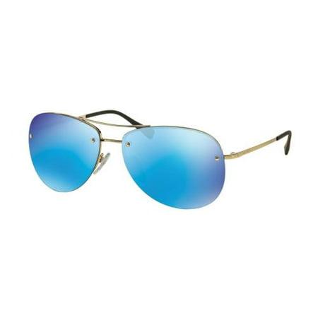 32d758632d115 Prada - PRADA SPORT Sunglasses PS 50RS ZVN5M2 Pale Gold 59MM - Walmart.com
