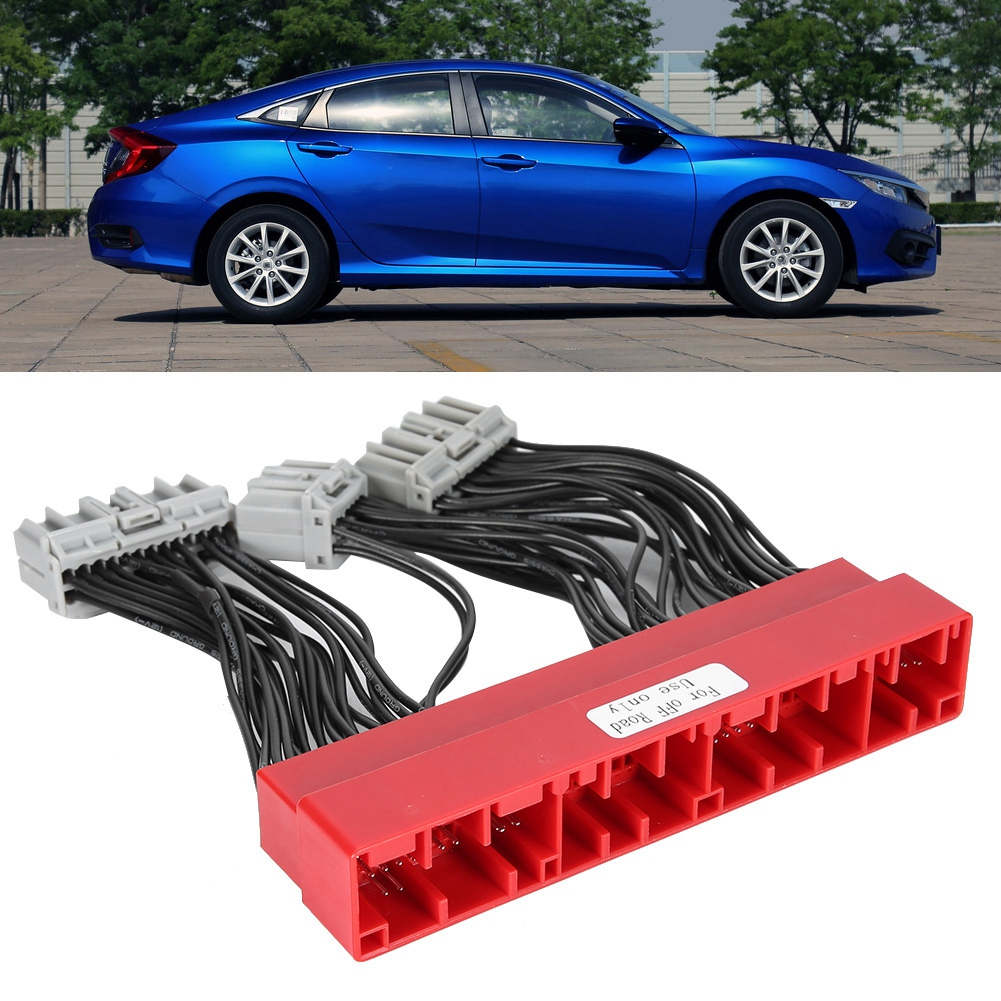 YLSHRF OBD2A To OBD1 Jumper ECU Conversion Wiring Harness