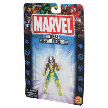 Marvel X-Men Rogue Die-Cast Poseable Toy Biz Mini - Rogue Xmen Jacket