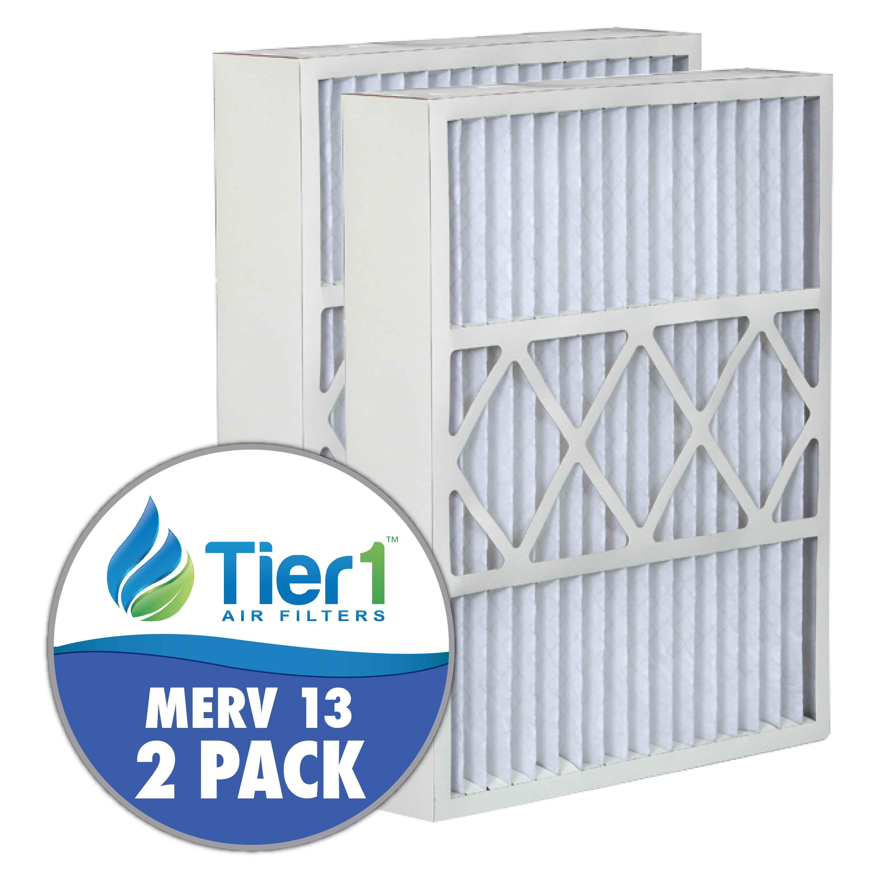 Honeywell 5-1625-13 16x25x5 Merv 13 Replacement AC Furnace Air Filter (2 Pack)