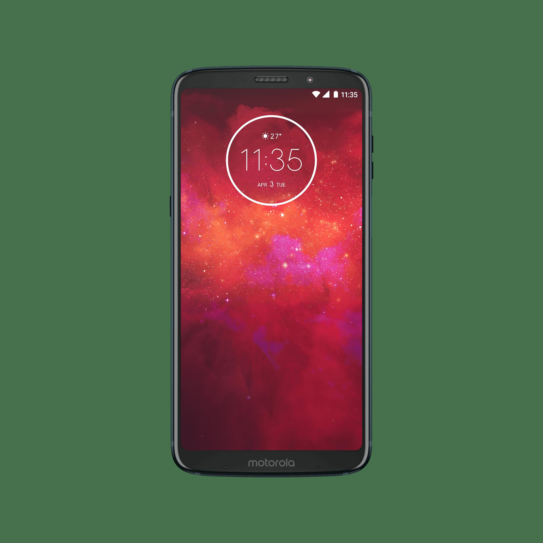 Motorola Moto Z3 Play 64GB Unlocked Smartphone Deep Indigo