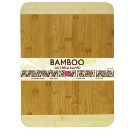 Home Basics Cutting Board Bamboo 12 by 16-Inch ()