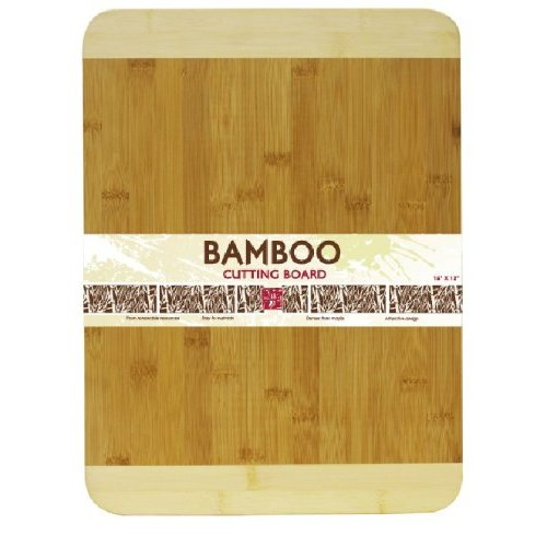 Home Basics Cutting Board Bamboo 12 by 16-Inch