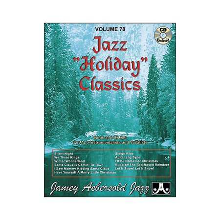 Jazz Cd - Jamey Aebersold Volume 78 - Jazz Holiday Classics - Play-Along Book and CD Set