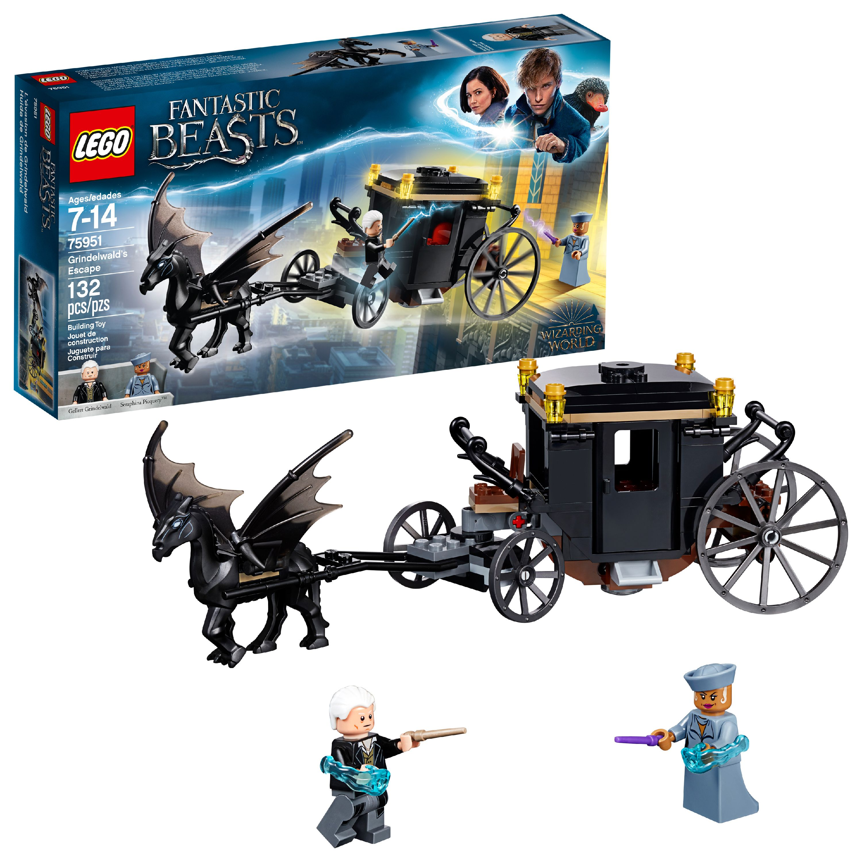 LEGO Harry Potter TM Fantastic Beasts Grindelwald´s Escape 75951